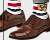 CL dress shoes w striped