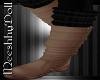 {MD}Beige_Black Boots