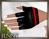 *J 80's Gloves Red