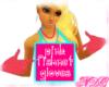 *NDC Pink Fishnet Gloves