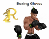 R22 Black Boxing  Gloves