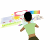 kids coloring mat
