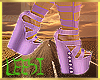 K| Purple sav heels