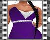 Slim Purple Gown