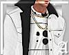 "Ⱥ"" White Fur Suede"