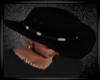 (J) Black Cowboy hat