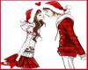 Holiday Couple Sticker
