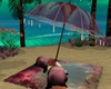 Paradise Island Umbrella