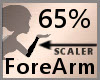 65% ForeArm Scaler F A