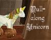 Pull Along Unicorn