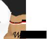Red Black White Armbands