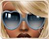 !NC Heart Glasses Blue
