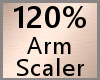 Arm Scaler 120% F A