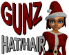 @ Santa Hat w/ Red Hair