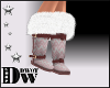 D- Knit Pink Boots