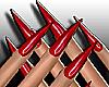 Red Devil Shiny Nails