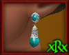 Vintage Turqs Earrings S