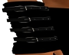 PVC Black Arm Warmers