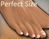 Perfect Size Feet