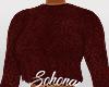 ṩFuzzy Sweater Wine