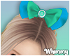 Kids Tie Dye Hair Bow