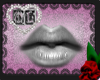 Silver Dark Lip Gloss Mh