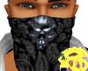 Skull Dead bandana Black