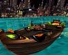 Romantic boat animated
