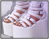Kaia Boots White