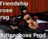 Friendship rose rug