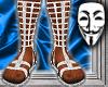 Roman Sandals v1 Wht/Slv