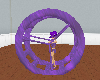 (e) purple water wheel