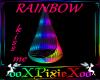 Rainbow kiss Hangingseat