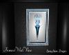 Azure Framed Vase Ani