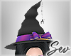 *S Halloween Witch Hat