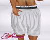 Y* White Shorts