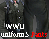 WWII uniform 5 pants