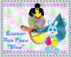 "Easter Fun Pose ""Blue"""