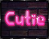 [AW] Cutie Neon Sign