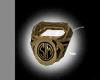 -M- Great Gatsby ring