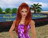 PP|Long Shiny Red Hair