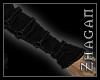 [Z] Armwraps Blk Leather