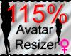 *M* Avatar Scaler 115%
