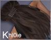 K Mel dark brown lux
