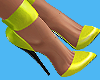Neon Latex Shoes