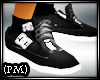 DC Black Shoes and socks