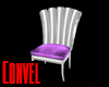 Silver Lavender chair