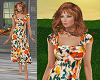 TF* Modest Bright Dress