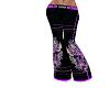 Purple Skull Pants