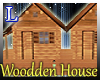 Double wooden house